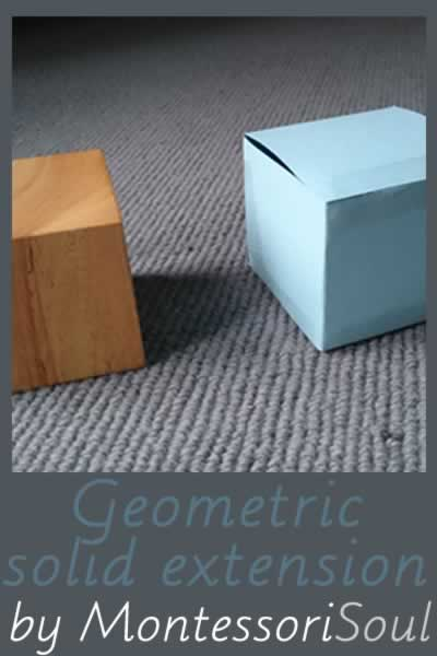 Geometric solid extension