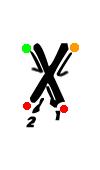 Pre-cursive x