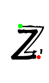 Pre-cursive z