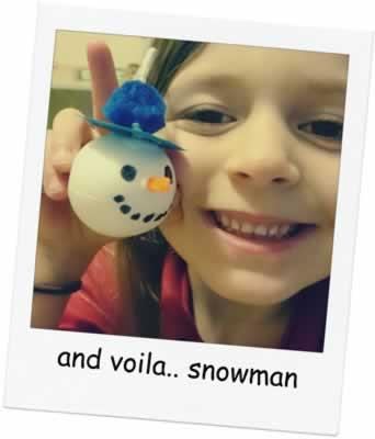 Snowman Garland 10