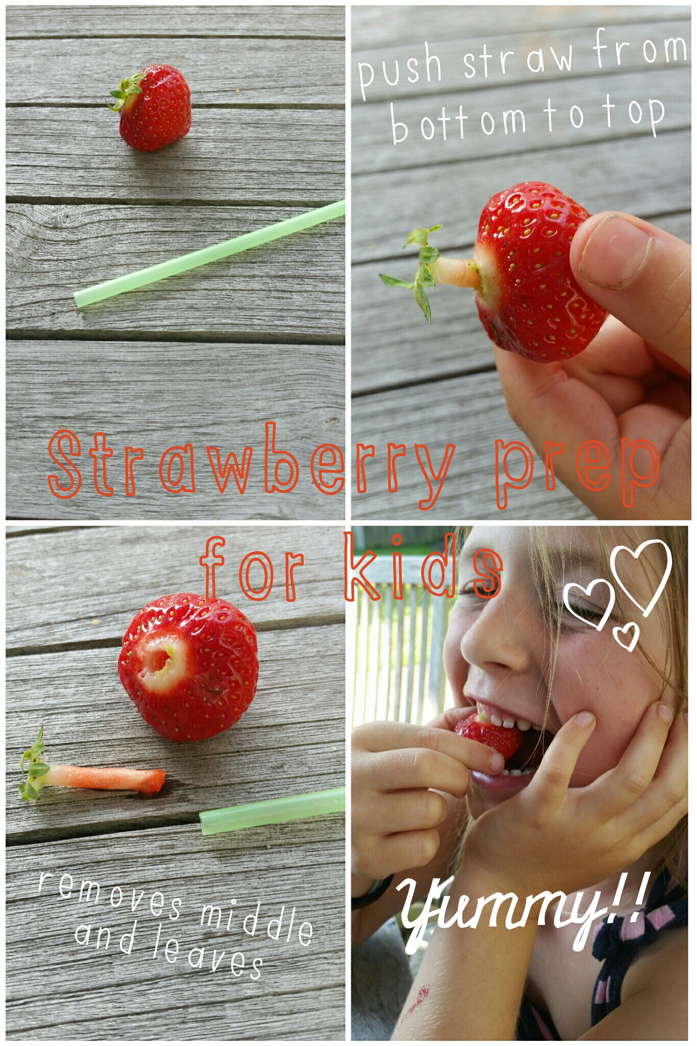 Strawberry straw