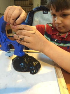Seb using magnet slime