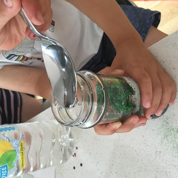 Dreams sensory jar
