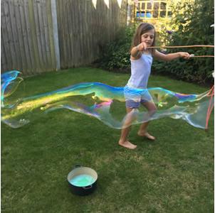 Homemade Giant Bubble Mixture