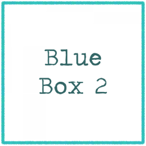 Blue Box 2 - Pictures and Letters