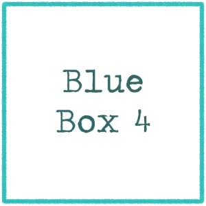 Blue Box 4 - Pictures and words