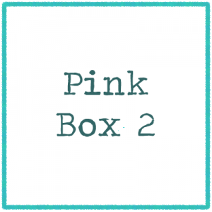 Pink Box 2 - Pictures and Letters