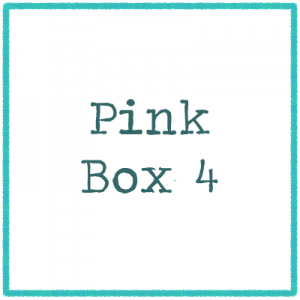 Pink Box 4 - Pictures and Words